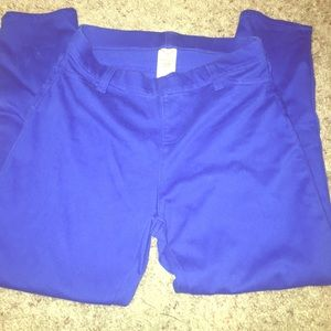 Faded glory size small juniors jeggings